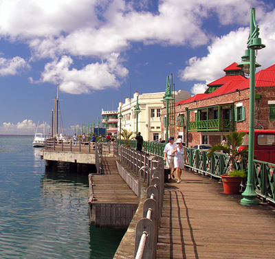 Barbados: Bridgeport Promenade