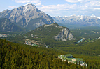 Banff From the Sulphur Mountain Gondola