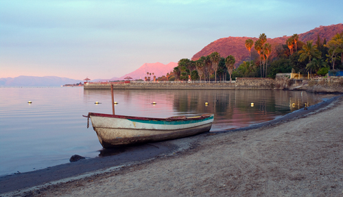 Lake Chapala in Mexico