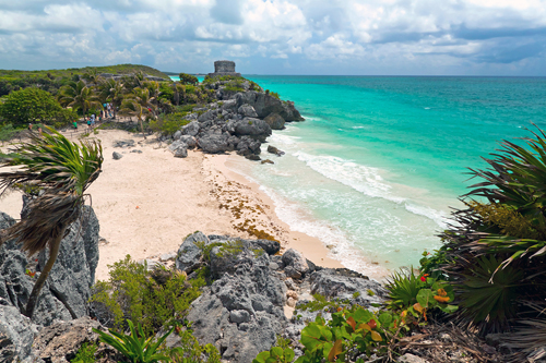 Tulum: Beach and Archaeological Site