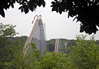 Indiana: Holiday World Voyage Wooden Roller Coaster