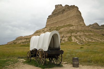 Nebraska: Scotts Bluff National Monument
