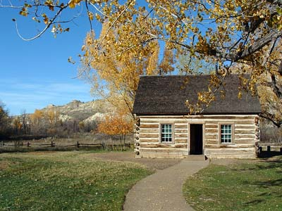 North Dakota: Roosevelt Cabin