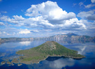 Oregon: Crater Lake and Wizard Island