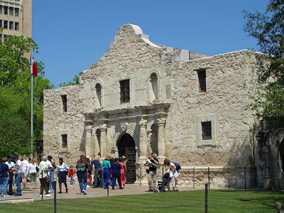 Texas: The Alamo in San Antonio