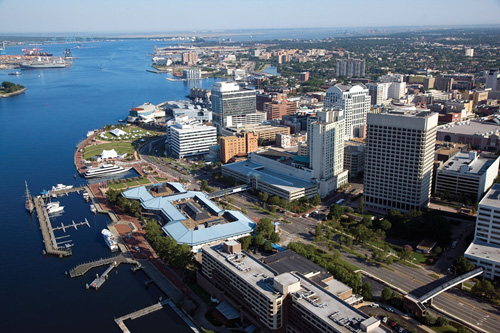 Norfolk Virginia Waterfront